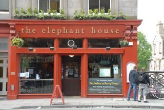 Elephant House, where JK Rowling wrote Harry Potter